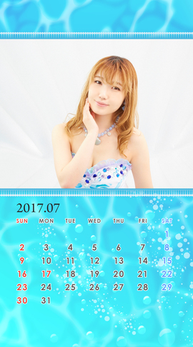 CALENDAR 2017.07 Smartphone