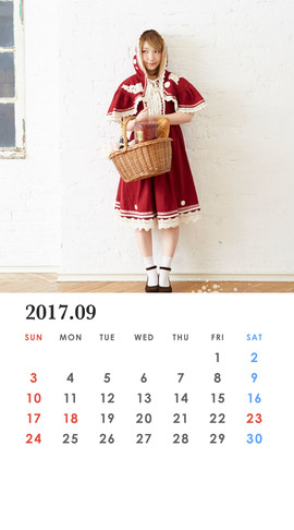 CALENDAR 2017.09 Smartphone